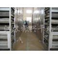 Desidratado Vegetais Secagem de linha de pré-processamento
