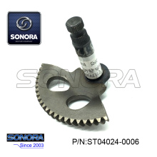 YAMAHA 50CC 2T Kick Start Shaft Gear 74.5MM (P / N: ST04024-0006) Calidad superior