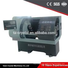 nova tecnologia grande furo cnc torno máquina CYK0660DT