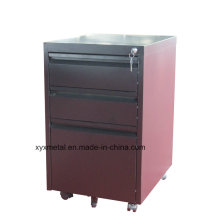 2016 Hot Selling High Quality Steel 2 Drawers File Cabinet with Casters