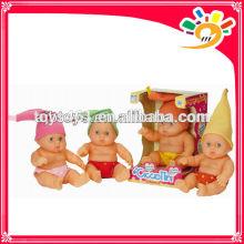 24CM cute vinyl baby doll ,baby toys