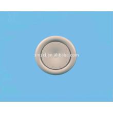 Válvula de ar branco Circular ar válvula/disco