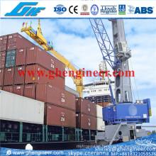 Mhc1650 grúa portuaria hidráulica de múltiples usos del puerto