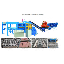 Cemento Bloque automático que hace la máquina Ladrillo que hace la máquina Máquina del molde del bloque (QT5-15b)