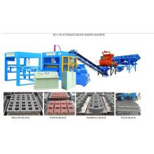 Машина для производства блоков для производства блоков из цемента (QT5-15b)