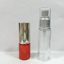 Botella de empaquetado cosmética sin aire de la cristalería de la botella de cristal de la botella