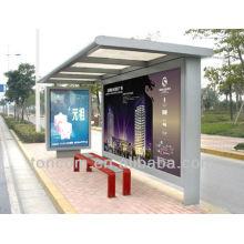 Fabrication de refuges d'attente en bus métallique THC-36