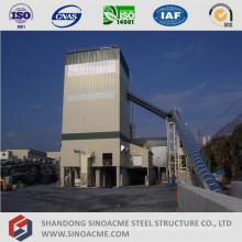 Planta de mezcla de hormigón de estructura de armazón de gran altura