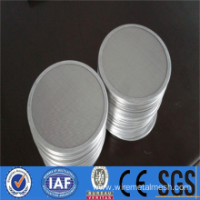High strength Stainless steel filter disc mesh