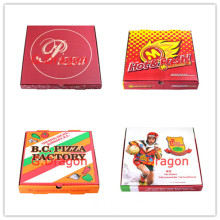 Wholesale SGS Admitted Cheap High Quality Custom Corrugated Food Pizza Box
