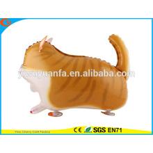 De alta qualidade, passeio, brinquedo, balão, brinquedo, folha, balão, gato, Natal, presente
