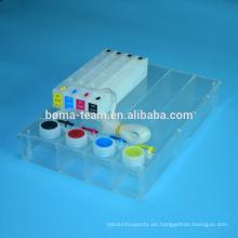 Sistema continuo de suministro de tinta para hp 980 para impresora de color hp x555 officejet x585 ciss