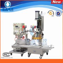 Hohe Qualität flüssige automatische Füllmaschine 8-12 Barrel / Min
