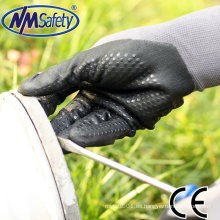 NMSAFETY guantes de espuma de nitrilo nano-metros