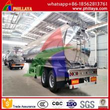 50000L Tri-Achse Aluminium Kraftstoff Semi Trailertank LKW