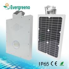 Todo en uno Solar integra la calle y la luz del patio