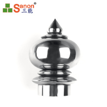 50.8mm SS 304 Stainless Steel Hollow Ball With Steeple Handrail Components