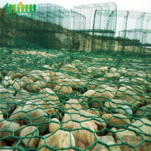 PVC Coated Box Mesh Glass Rock For Gabion
