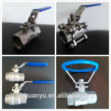 1PC/2PC/3PC Ball Valve 304/316 1000WOG