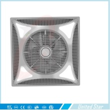"United Star 2015 14 ""Electric Wood Color Ventilador de Teto Uscf-162L"