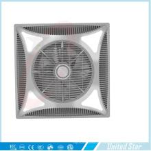 Ventilateur de plafond en plastique Bladeless avec refroidisseur électrique de 14 po (USCF-162) avec LED
