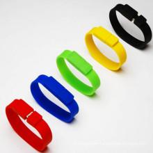 Venta al por mayor de silicona caucho pulsera USB Memory Stick