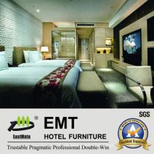 Moderno dormitorio de muebles de hotel conjunto (EMT-A1024)