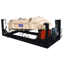 Belt Transmission Power 6-12 T/h Pellet Powder Rotary Screen Machine Wire Rope Suspension