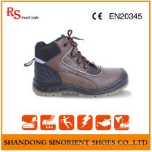 Кожаные носовые и стальные пластинчатые сапоги RS94