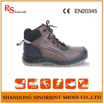 Botas de trabajo de acero no de acero de punta y placa de acero RS94