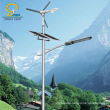400W Wind Turbine Wind Solar Street Light Hybrid