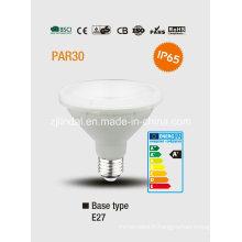 PAR30 Ampoule de LED imperméable à l'eau