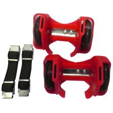 beliebte zwei LED-PVC-Räder Blinkende Rolle