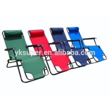 Cadeira confortável reclinável confortável com inclinação zero com função dobrada