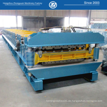 Doppelschicht-Stahldach- und Wandbiegemaschinen