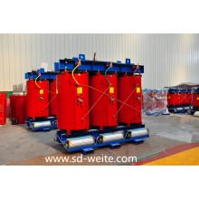 Transformateur de puissance de distribution à sec fabriqué en Chine pour alimentation électrique