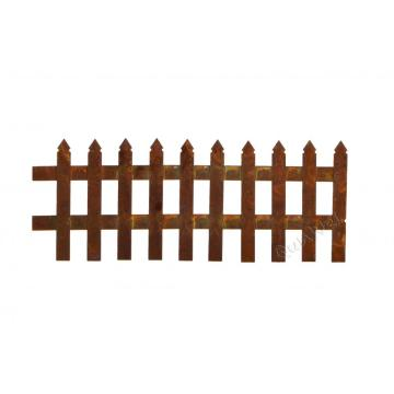 Rusty fence for 1/12 scale dollhouse garden