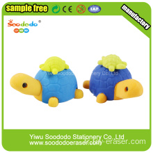 Chine 3D Big Green Tortoise Shaped Eraser en gros