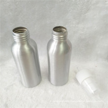 Cosmetic 100ml Aluminum Perfume Bottle with Sprayer