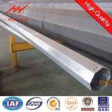 Precio de poste redondo de acero 15kn multi lateral con brazo cruzado