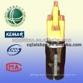 Государственная сеть 1KV медный XLPE изолированный кабель питания 95mm2