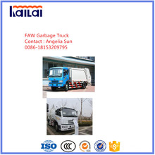 Jiefang Compacted Müllwagen zum Verkauf Abfallbehandlung
