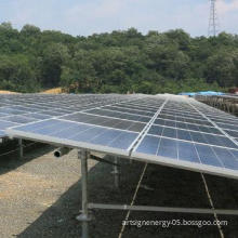 Galvanized steel ground screw piles for solar mounting bracket