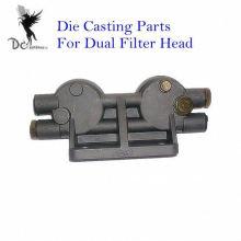 Base de filtro de camión de aluminio de fundición con TS16949