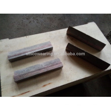 Cr26 C15Mo Schneidkante / Messerkante / Verschleißknopf / Verschleißblock / Verschleißplatte / Laminatplatte