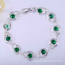 Fashion daily wear 18k gold bracelets for women