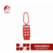 Wenzhou BAODI Flexible Lockout Hasp BDS-K8642 Couleur rouge