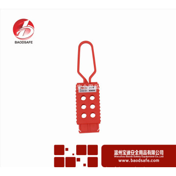 Wenzhou BAODI Flexible Lockout Hasp BDS-K8642 Couleur rouge