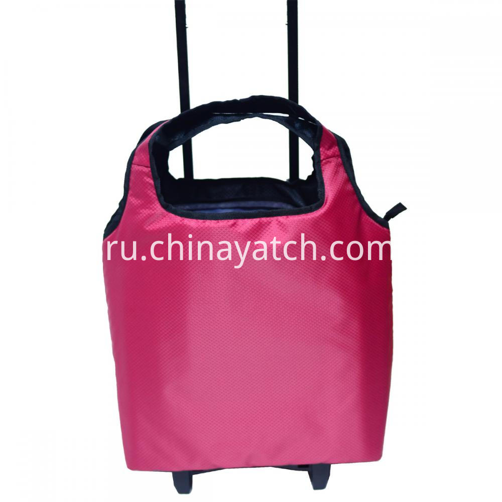 Wheeled Shopping Trolley Bag