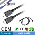 SIPU фабрика цена 24K позолоченными hdmi кабель 3 м